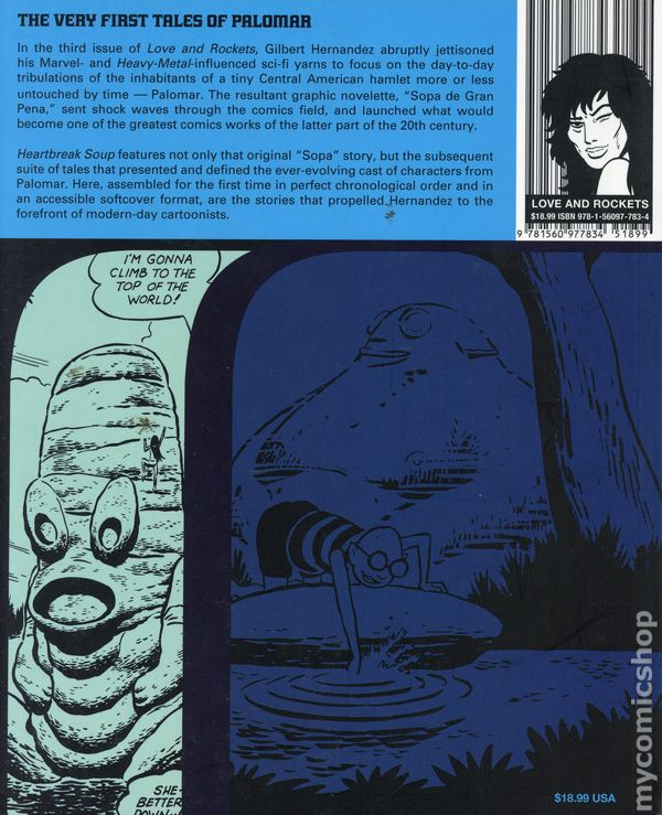 Eclipse Graphic Novel Heartbreak Comics SC, USA