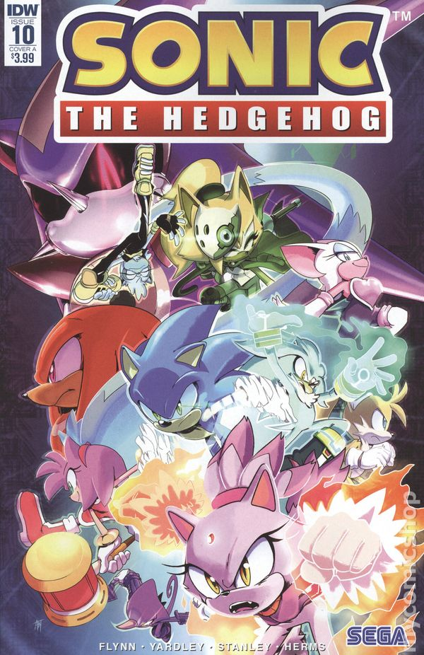 Sonic The Hedgehog Comic Books Issue 10