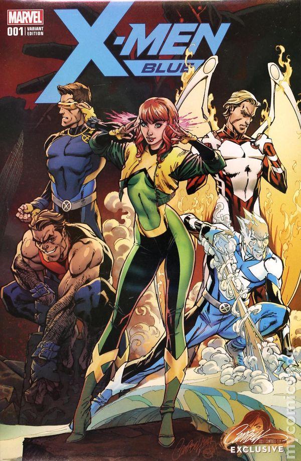 2018 MARVEL Comics X-MEN BLUE #29 ~ VF//NM Book