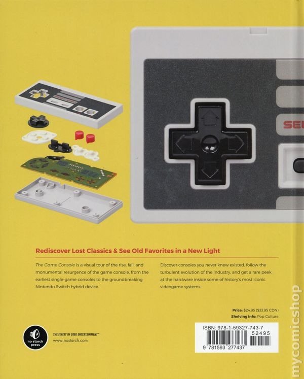 Game Console A History in Photographs HC (2018 No Starch