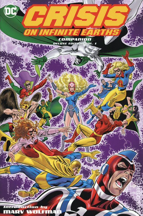 0212f911f02 Crisis on Infinite Earths Companion HC (2018 DC) Deluxe Edition 1-1ST ...
