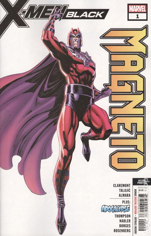 #1 November 1996 Marvel NM 9.2 1996 Series Magneto