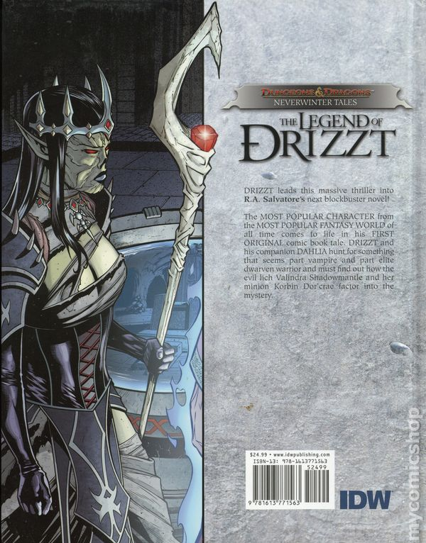 Dungeons and Dragons The Legend of Drizzt Neverwinter Tales HC (2012 IDW)  1-1ST NM