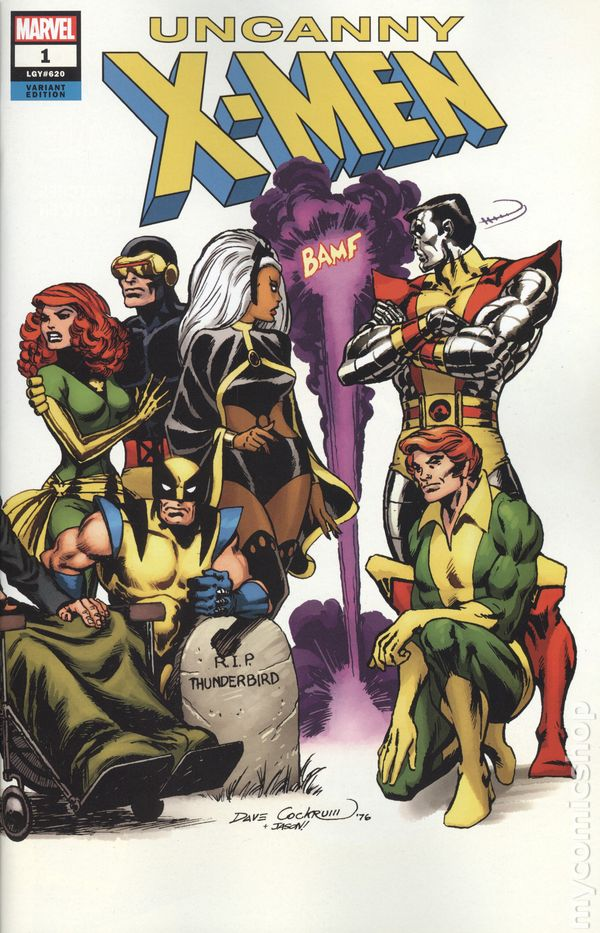 SOLD OUT 1st PRINT 2012 UNCANNY X-MEN #1 BLANK VARIANT NM ROGUE MAGNETO MARVEL