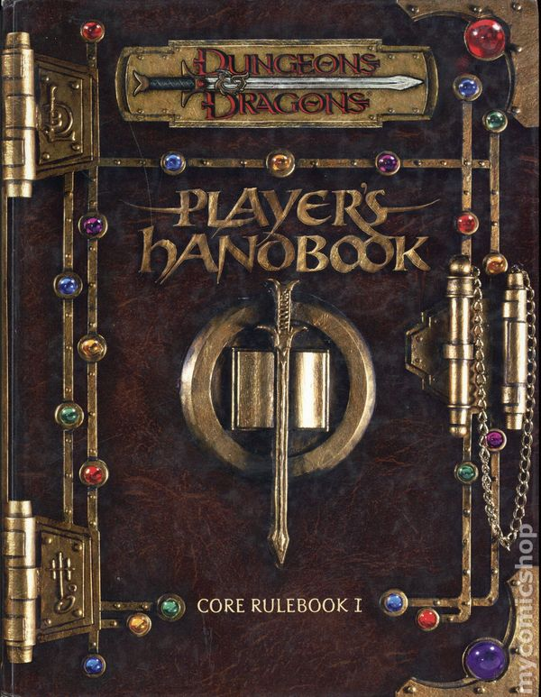 Players Handbook 2 HC 3.5 Ed Dungeons /& Dragons Reference Book