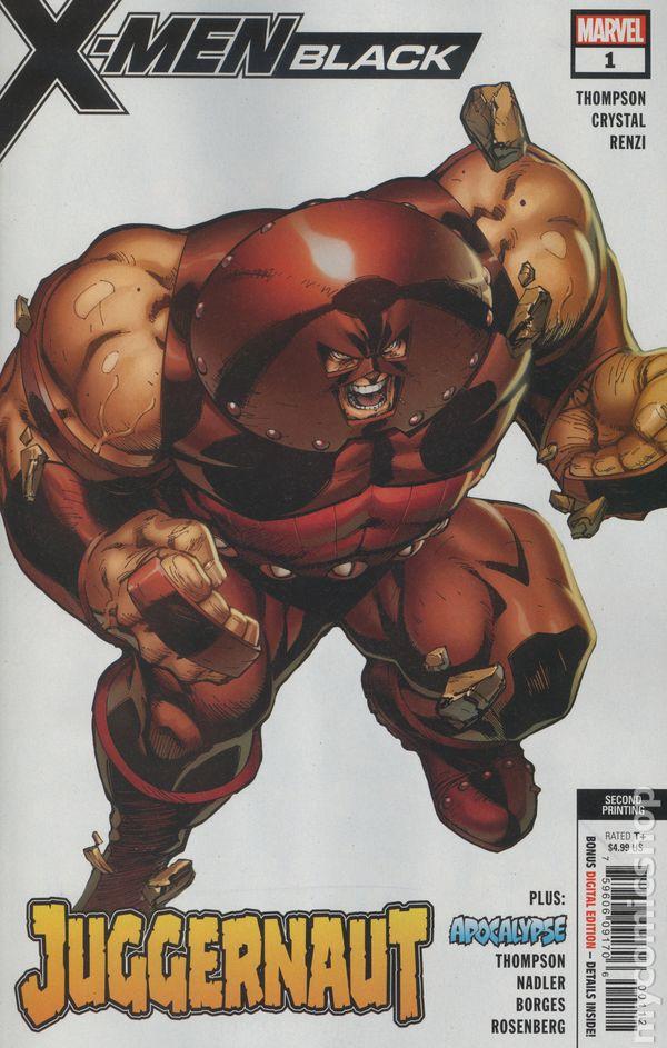 X-Men Black Juggernaut #1 Main Cover STOCK PHOTO 2018