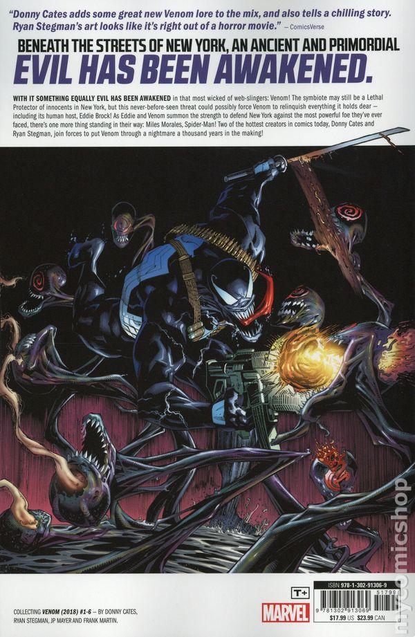 Venom TPB (2018 Marvel) By Donny Cates 1-REP NM