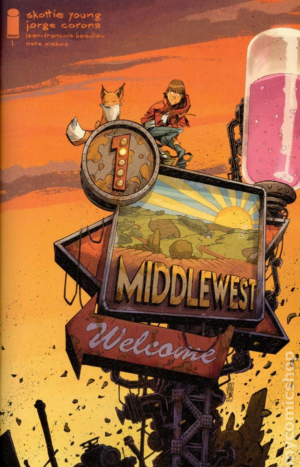 Middlewest #1First PrintingSkottie YoungImage 2018NM
