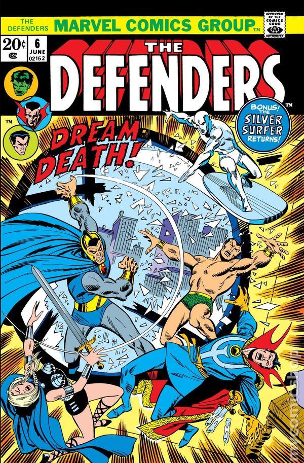 Defenders #47 1977 FN Stock Image 1st Series