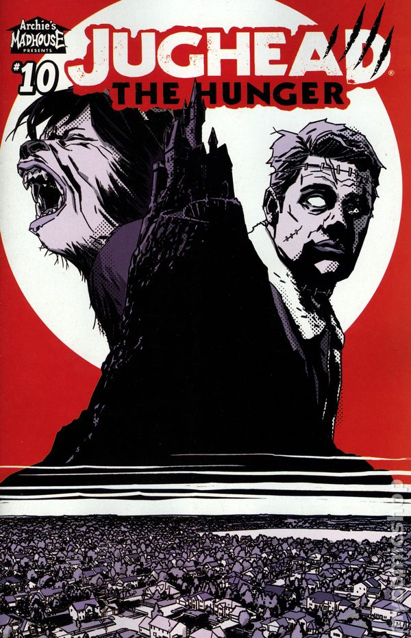 Jughead The Hunger Ongoing #5A Gorham Variant VF 2018 Stock Image