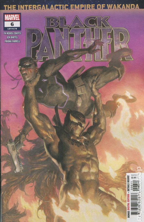 Black Panther #6A Stelfreeze Variant NM 2016 Stock Image