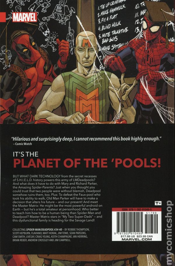 be4675f99dbc Spider-Man Deadpool TPB (2016- Marvel) comic books