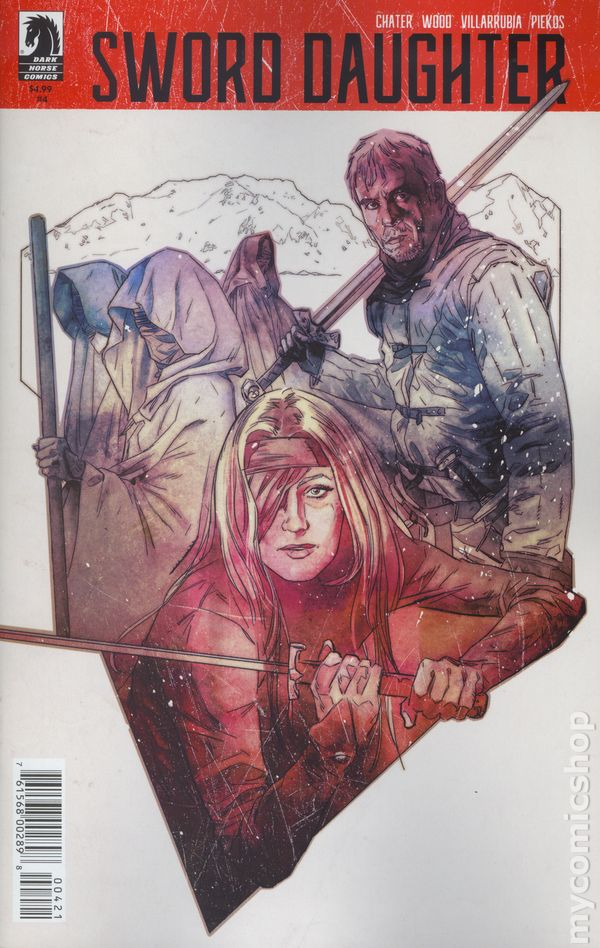Sword Daughter #4A Smallwood Variant NM 2018 Stock Image