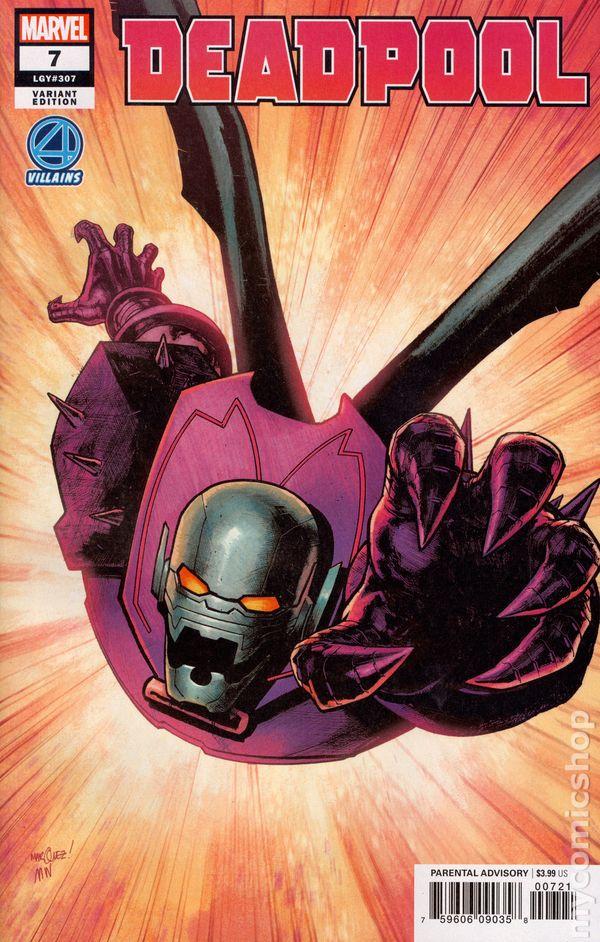 Deadpool /& The Mercs For Money #1 Marvel Comics Hip Hop Variant 9.6 Near Mint+