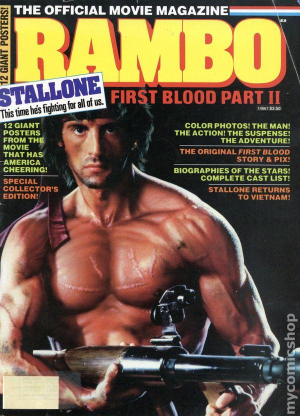 Rambo III Sylvester Stallone Arrow BW Poster