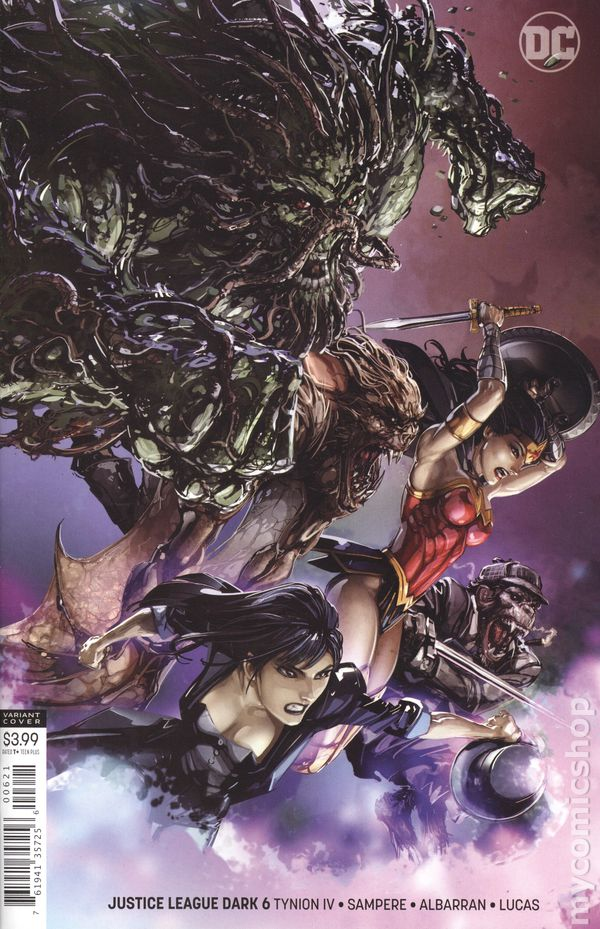 Justice League Dark Comic Books Issue 6