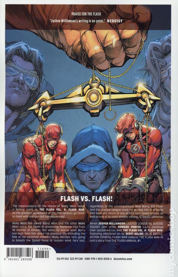 3358b436178 Flash TPB (2017- DC Universe Rebirth) 8-1ST