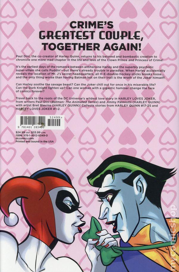 49f920388456 Harley Loves Joker HC (2018 DC) comic books
