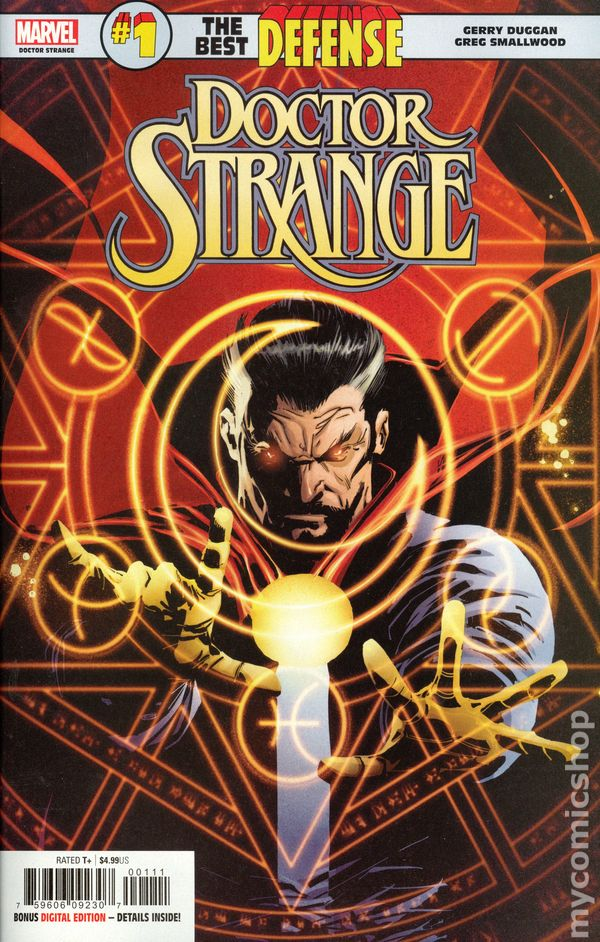 best comic of 2020 Doctor Strange: The Best Defense comic books issue 1 2018 2020