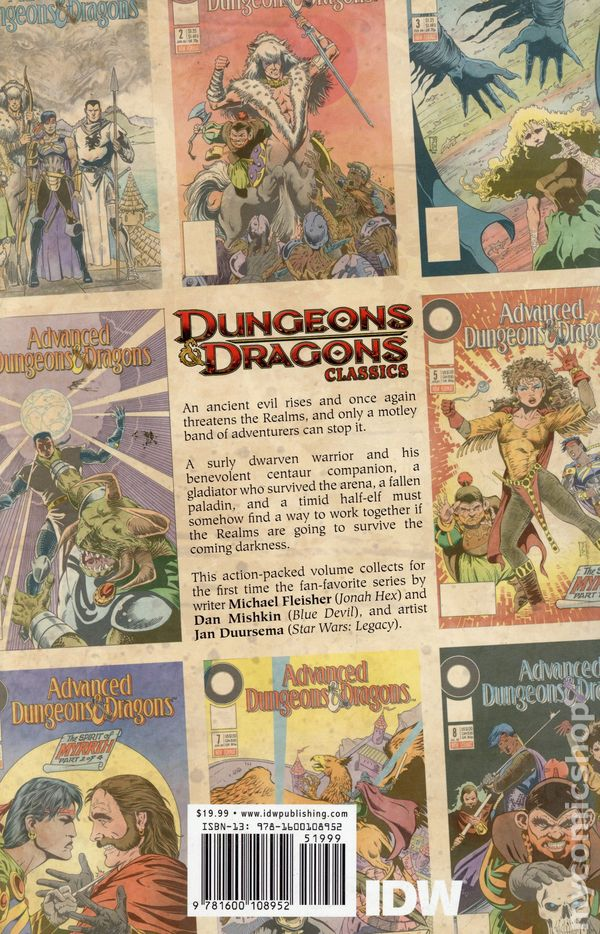 Dungeons Dragons Comic Books Issue 1