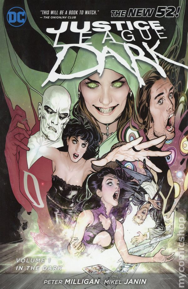 Justice League Dark Tpb 2012 2015 Dc Comics The New 52 Comic Books