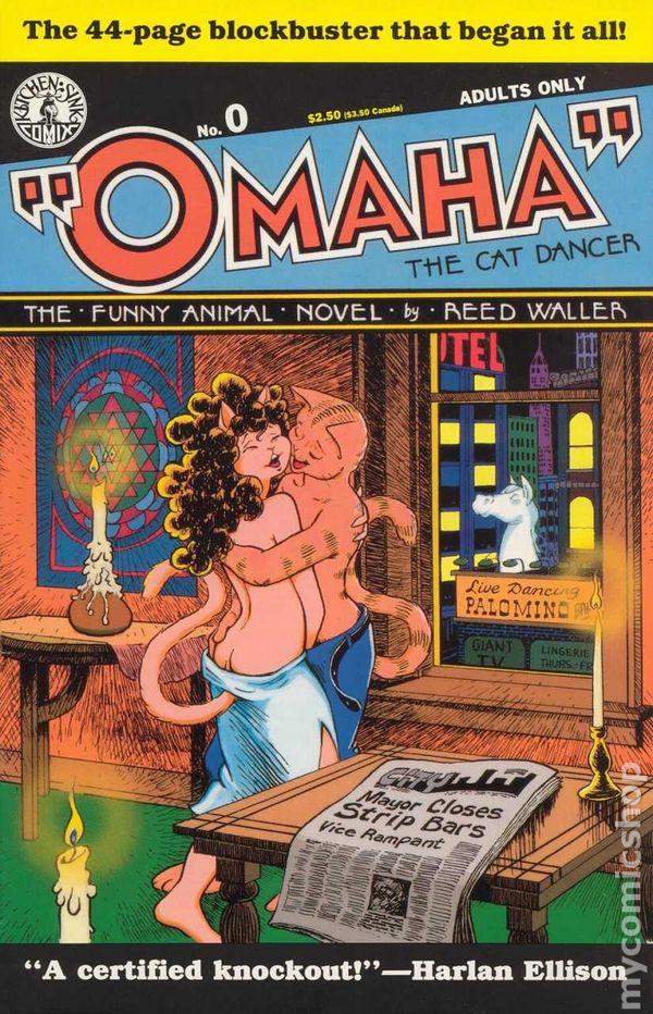 OMAHA THE CAT DANCER Vol.1 #3 1986//94 Kitchen Sink Uncertified LOW GRADE