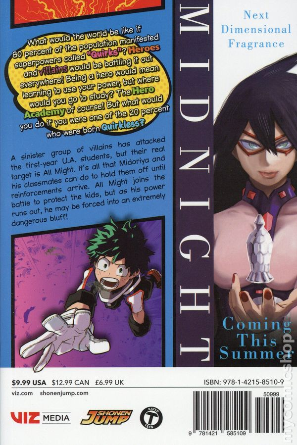 My Hero Academia GN (2015- A Viz Digest) comic books