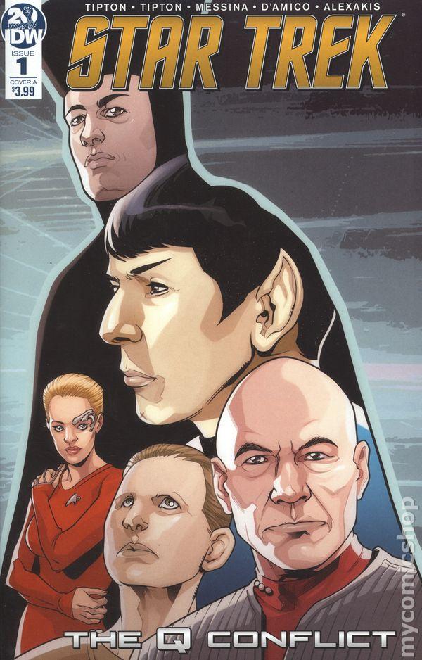 2019 4 new Star Trek: The Q Conflict Nr Neuware