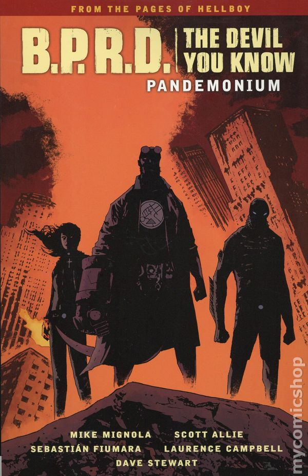 BPRD The Devil You Know #9 VF 2018 Stock Image