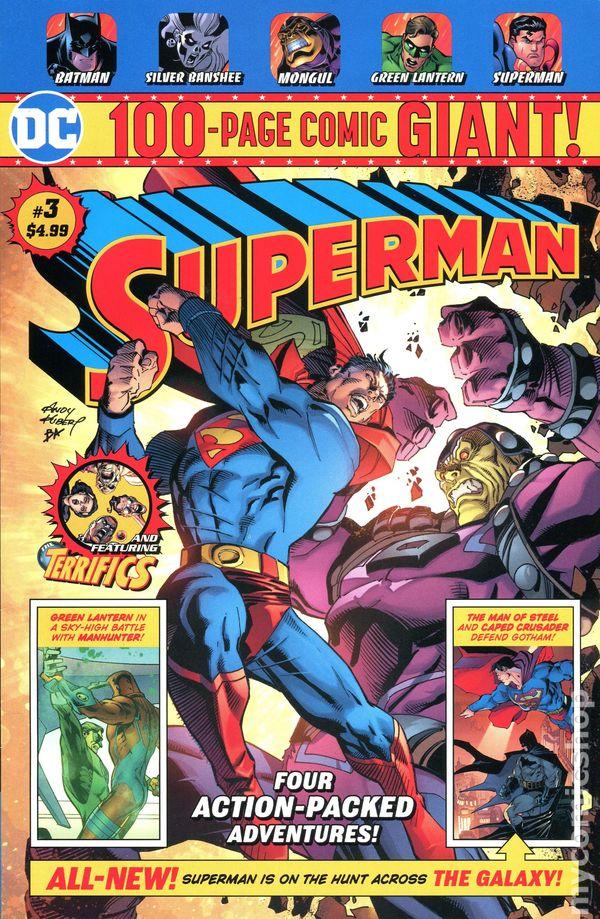 de3adab27202 DC 100-Page Comic Giant Superman (2018 DC) Walmart Edition 3