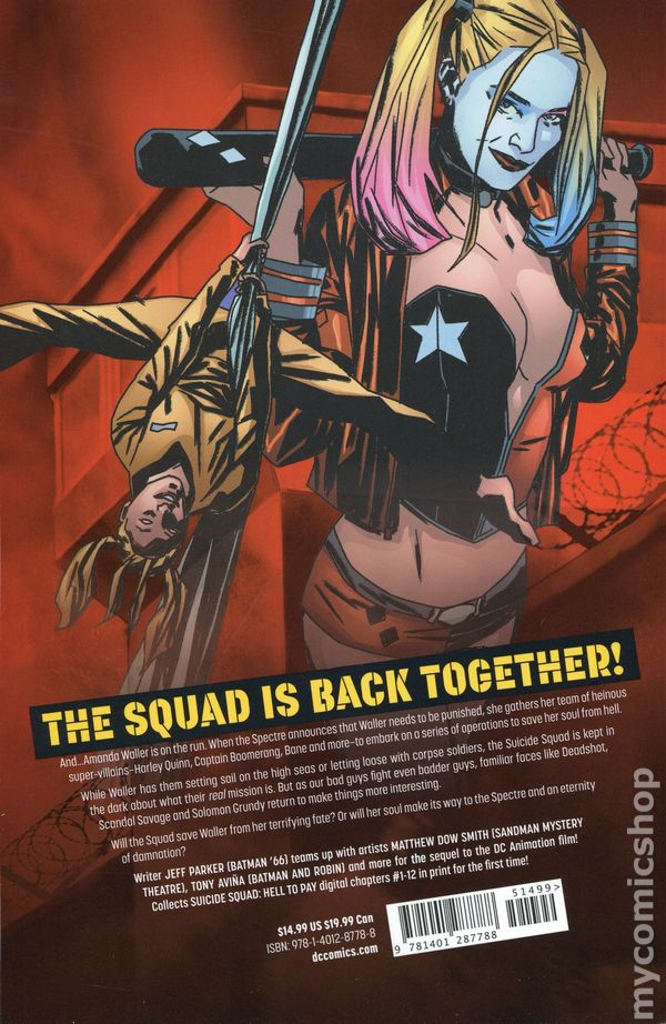 Suicide Squad Hell To Pay Tpb 2019 Dc Comic Books