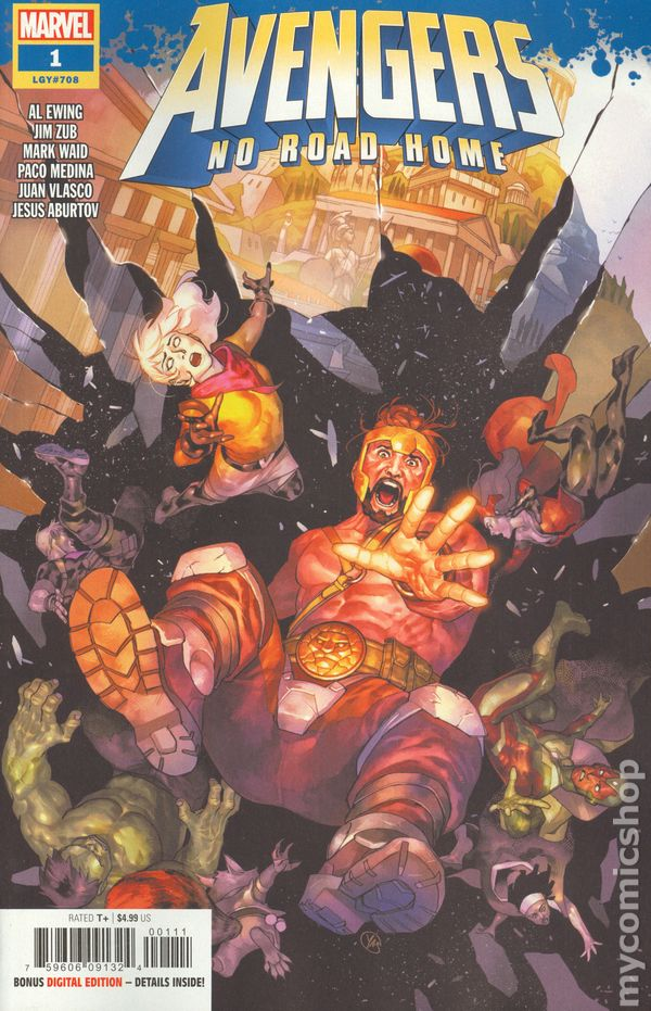 The Avengers No Road Home #6 2nd Printing Marvel NM Comics Book