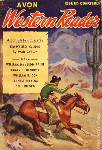 Avon Western Reader (1947 Avon Book Company) comic books 1955 or before