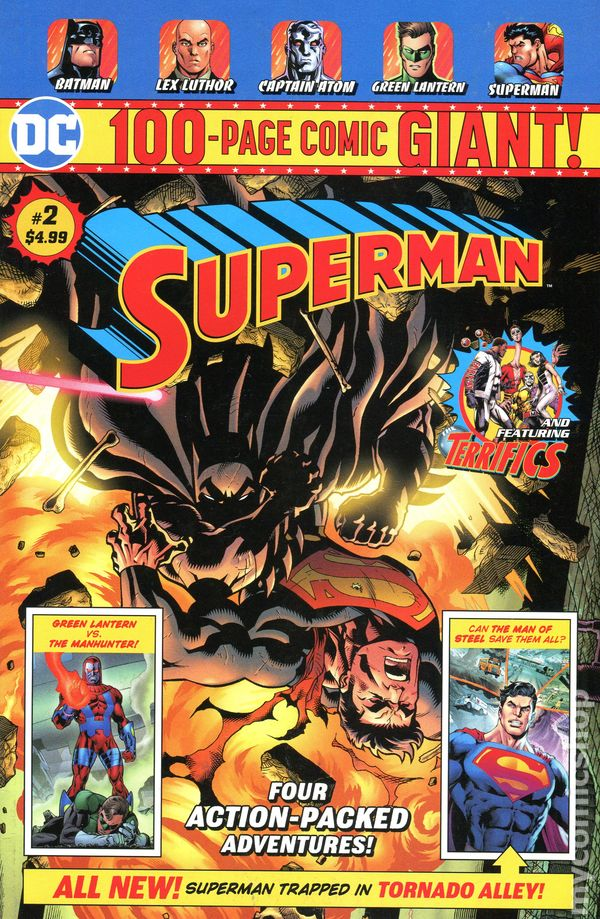 Superman 100 Page Giant # 1 Cover A NM DC
