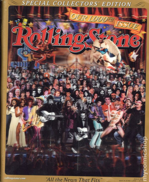Rolling Stone Magazine (1967) comic books