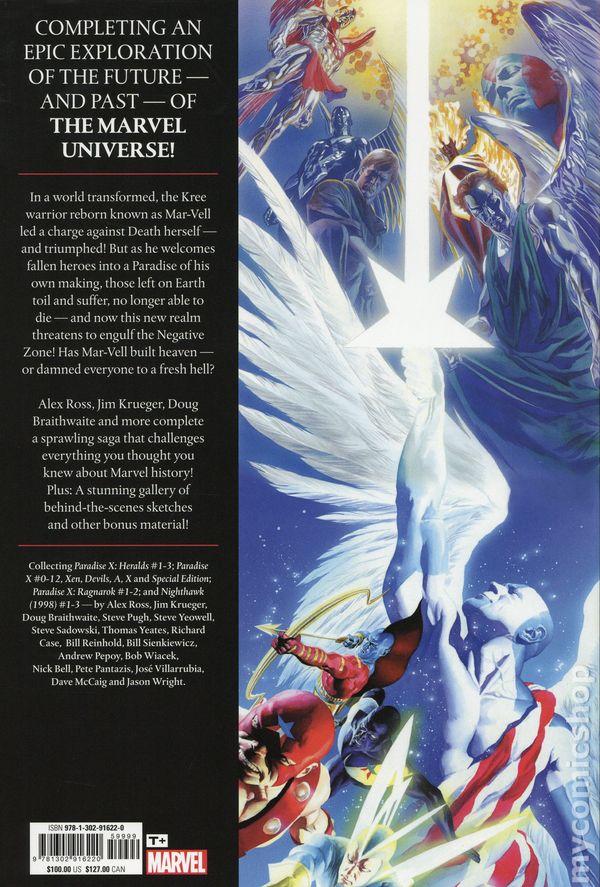 Earth X Trilogy Omnibus Omega HC (2019 Marvel) comic books