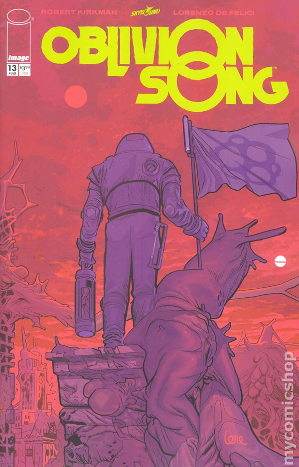 OBLIVION SONG #5 LORENZO DE FELICI ART /& COVER ROBERT KIRKMAN STORY 2018