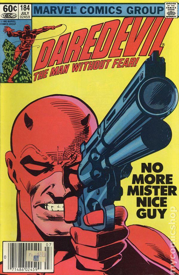 Choose One Newsstand or Direct Kingpin Daredevil #185 1982, Marvel Miller