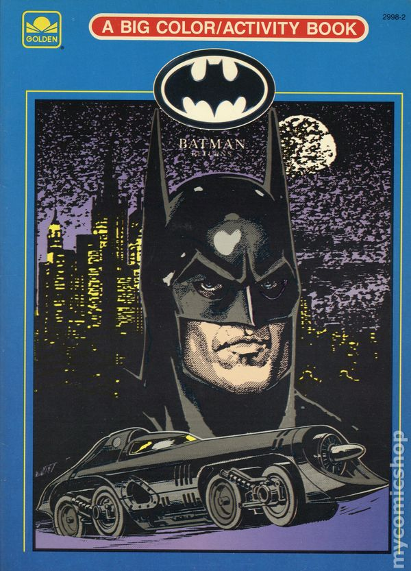 Batman Returns Coloring/Activity Book SC (1992 Golden Books ...