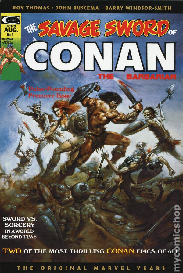 Savage Sword of Conan Omnibus HC (2019 Marvel) The Original Marvel Years  1A-1ST NM