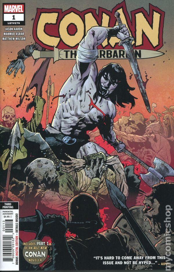 93c22134d0e2 Conan the Barbarian (2018 Marvel) 1R