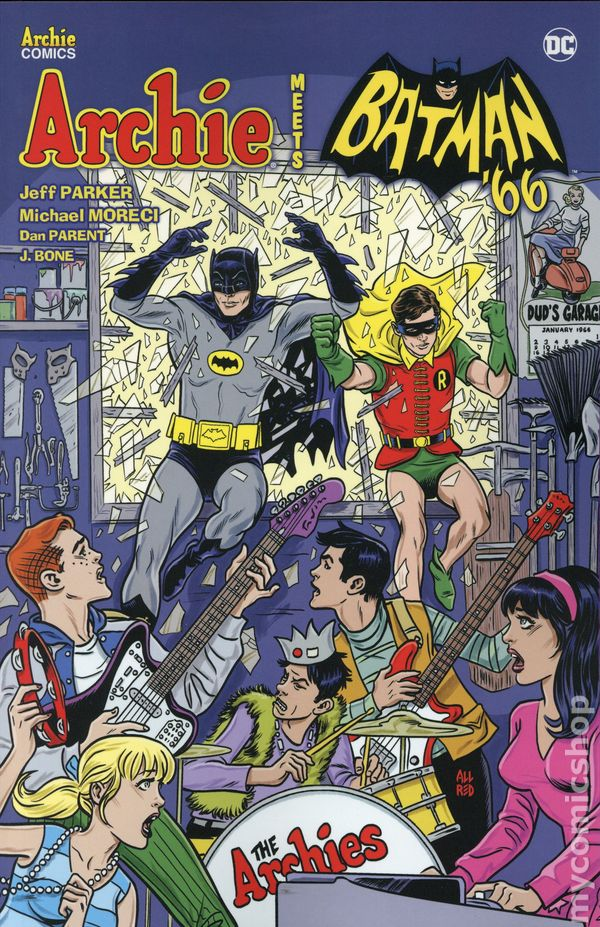 Archie Meets Batman '66 TPB (2019 Archie) 1-1ST NM