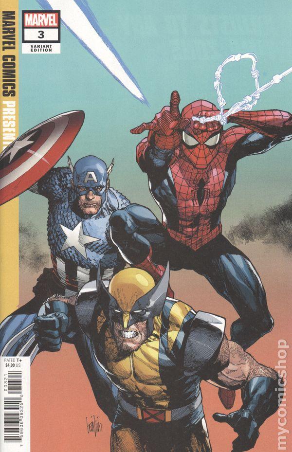 Marvel Comics Presents #2A Adams Variant VF 2019 Stock Image