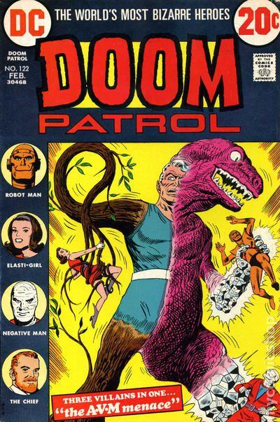 doom patrol negative man comic