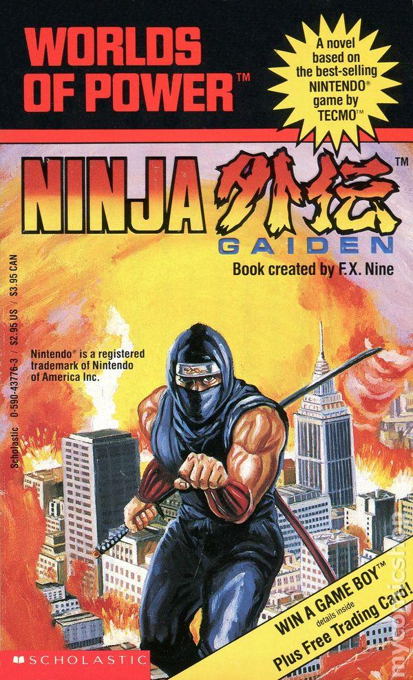 Worlds Of Power Ninja Gaiden Pb 1990 Novel Comic Books