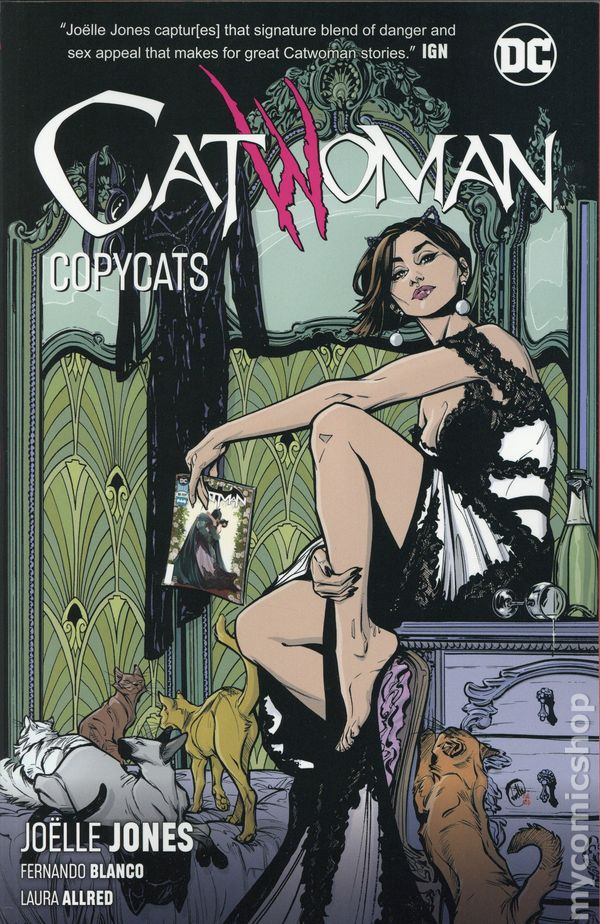 Aug 1993 life-lined DC Comics /'CATWOMAN/' Issue  #1 with embossed cover