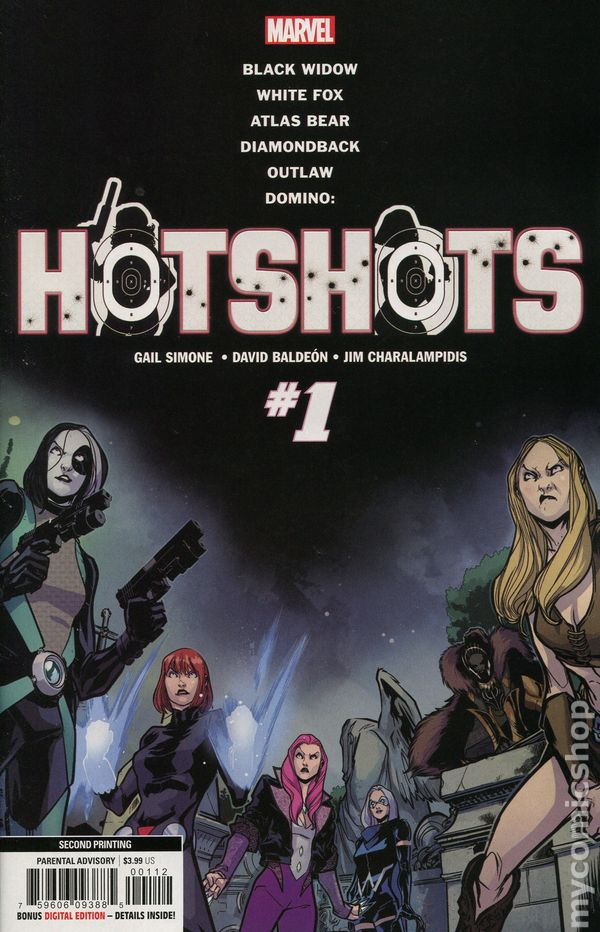 Domino Hotshots #4 STOCK PHOTO Marvel 2019