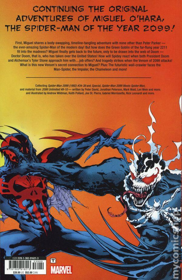 Spider-Man 2099 vs  Venom 2099 TPB (2019 Marvel) 1-1ST NM