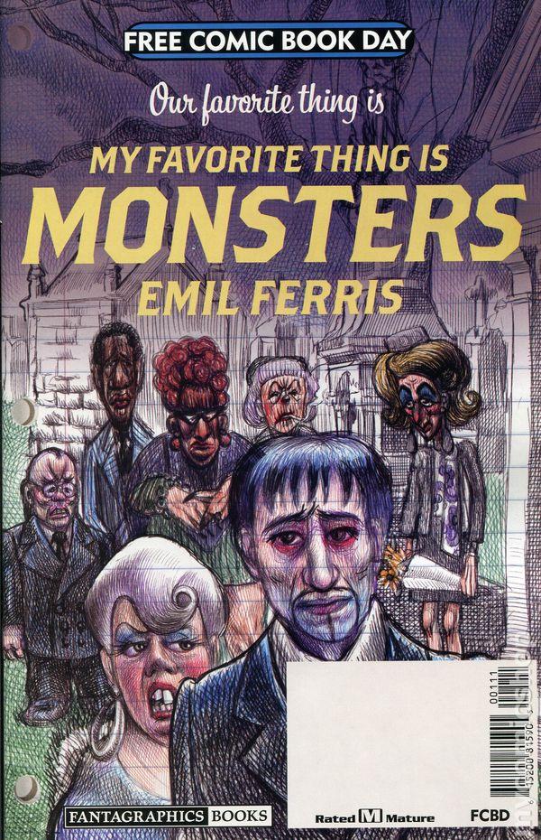 Monster comic books issue 1