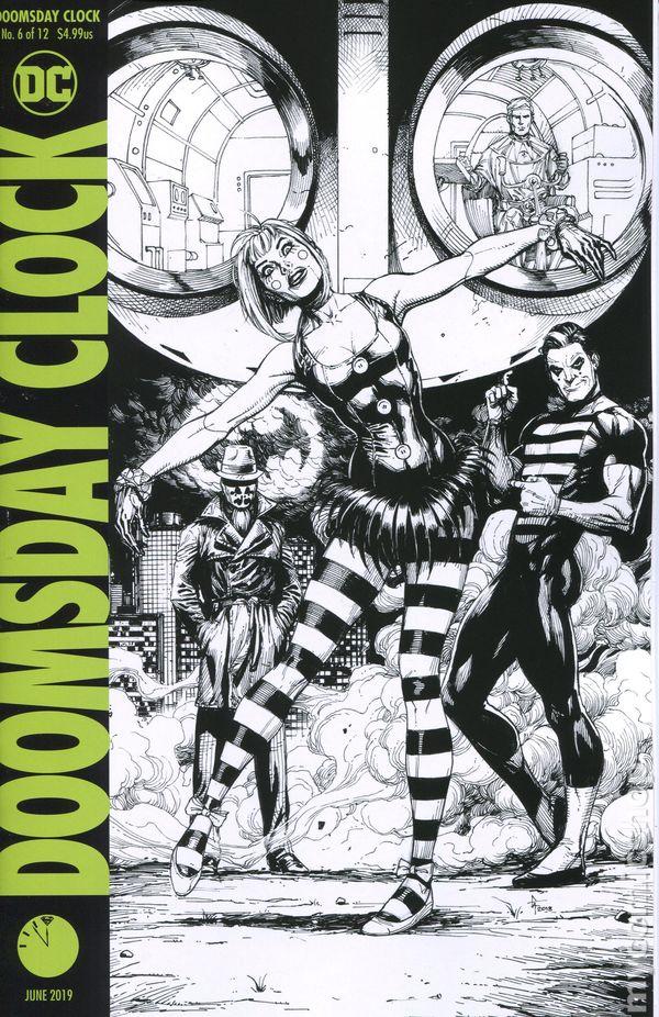 Doomsday Clock 2017 Dc Comic Books